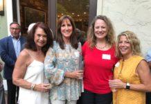 Sherrie Savett, Julie Savitch, Beth Drapkin and Debra Zweben