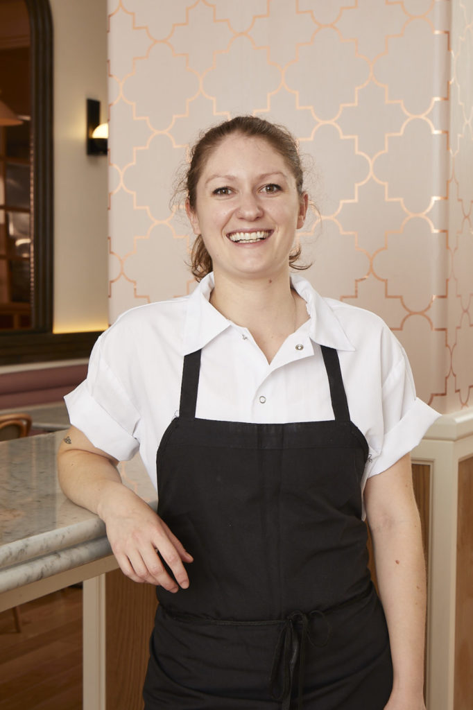 K'Far Executive Chef Camille Cogswell