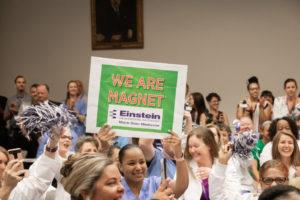 Einstein employees celebrate Magnet recognition