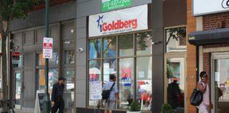 The outside of I. Goldberg