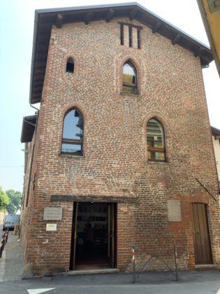 Exterior of Soncino Printing Museum at 8 Via Lanfranco