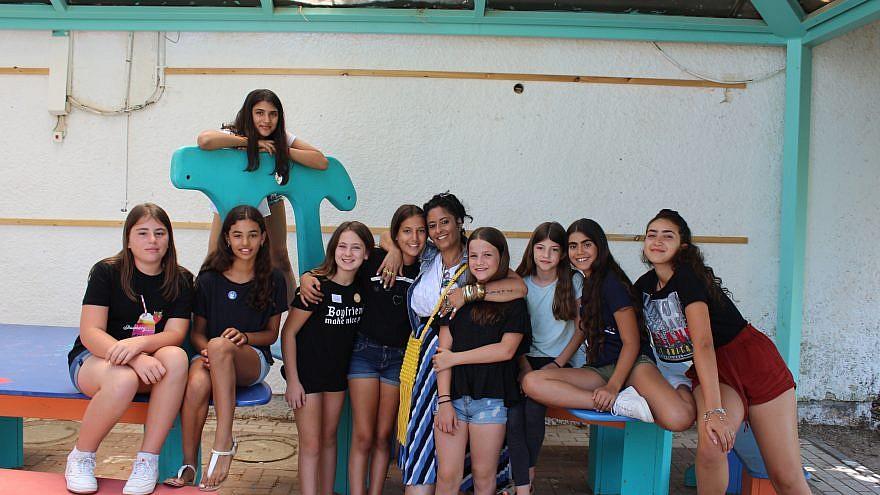 Children at the Yuvalei Ha-Bsor School summer camp