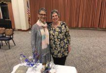 Rabbi Johanna Potts and JRC President Phyllis Halpern