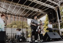 Jesse Moldovsky performing onstage