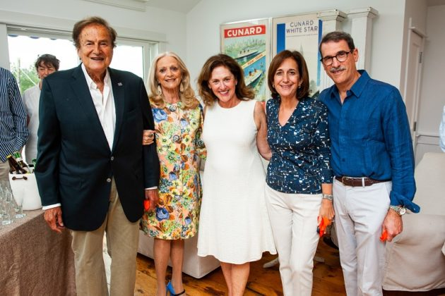 Norman and Suzanne Cohn, Jewish Federation Board Chair Susanna Lachs Adler, Susan Jacobson and Michael Golden