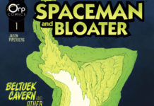 Spaceman and Bloater Vol. 1 cover art