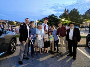 David Sommer and his family