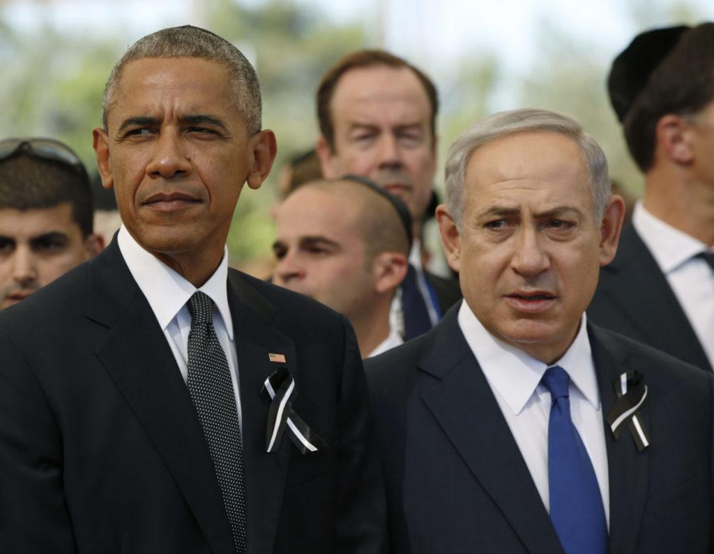 Barrack Obama and Benjamin Netanyahu