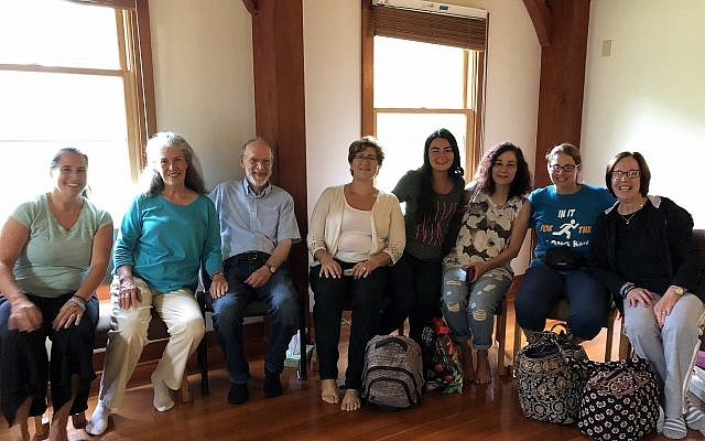 retreat attendees