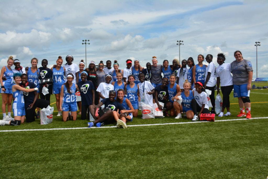 Team Israel and Team Kenya