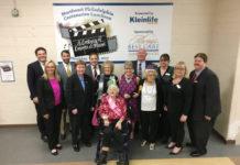 Seventeen centenarians were honored at Kleinlife