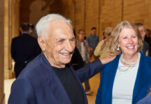 Frank Gehry and Gail Harrity