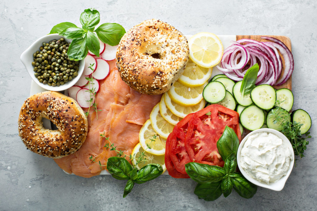 lox and bagel spread