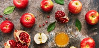 apples, pomegranates and honey