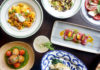 a selection of different dishes from Zagafen