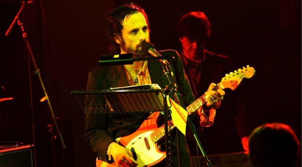 David Berman performs