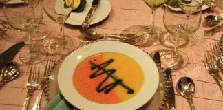 A soup offering from Betty the Caterer