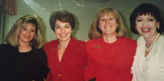 Vicki Rubenstein, Debbie Mendelson, Marcie Cohn and Debra Cohen