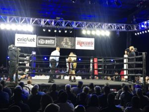 "Boxers grapple at ""Blood, Sweat and 50 Years"""