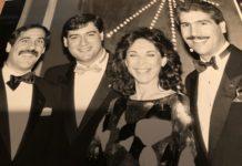 Ken Silver, Eddie Bruce, Susan Moses and Joey Roberts