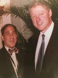 Ken Silver and President Clinto