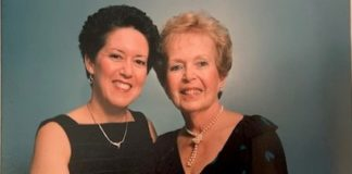 Randi Jacobs and her mother, Ann Director
