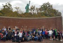 Abrams Hebrew Academy fourth through eighth graders