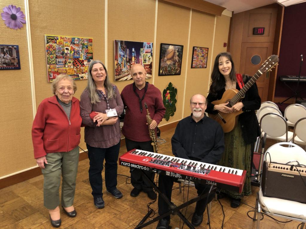 Helen Azarva, Gail Korostoff, Ken Ulansey, Dave Posmontier and Phyllis Chepell