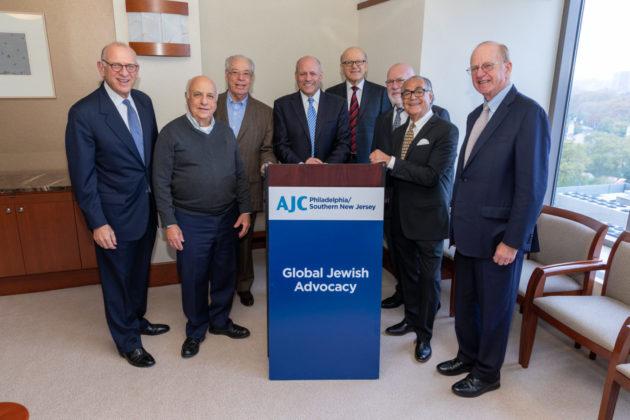 Fred Strober, Jim Rosenstein, Joseph Zuritsky, Alan Hoffman, Abelardo Lechter, Morris Gocial, Harold Yaffe and Bob Fiebach