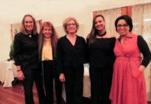 Laura Engelmann, Gayle Gross, Cookie Till, Briana Bee and Diane Melano