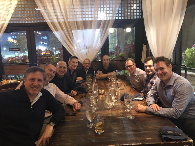 Ken Roshkoff, Steve Margulies, Steve Rosenberg, Steve Kramer, Henri Levitt, Mike Berkman, Ben Kirshner, Scott Fink and Shawn Orenstein