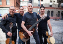 David Broza and his band