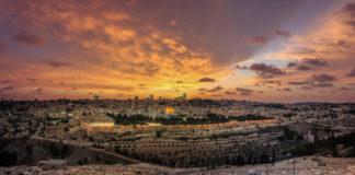 Jerusalem at sunset