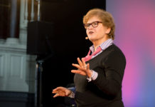Deborah Lipstadt speaks at Washington Hebrew Congregation