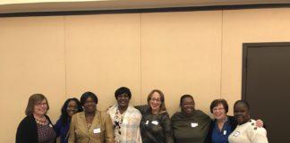 Elders Circle and Temple Sholom Sisterhood members
