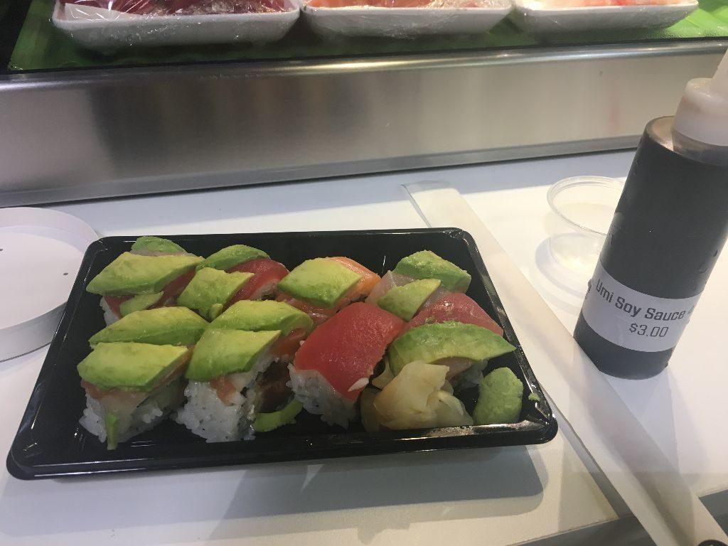 Sushi at Umi Sushi and Seafood