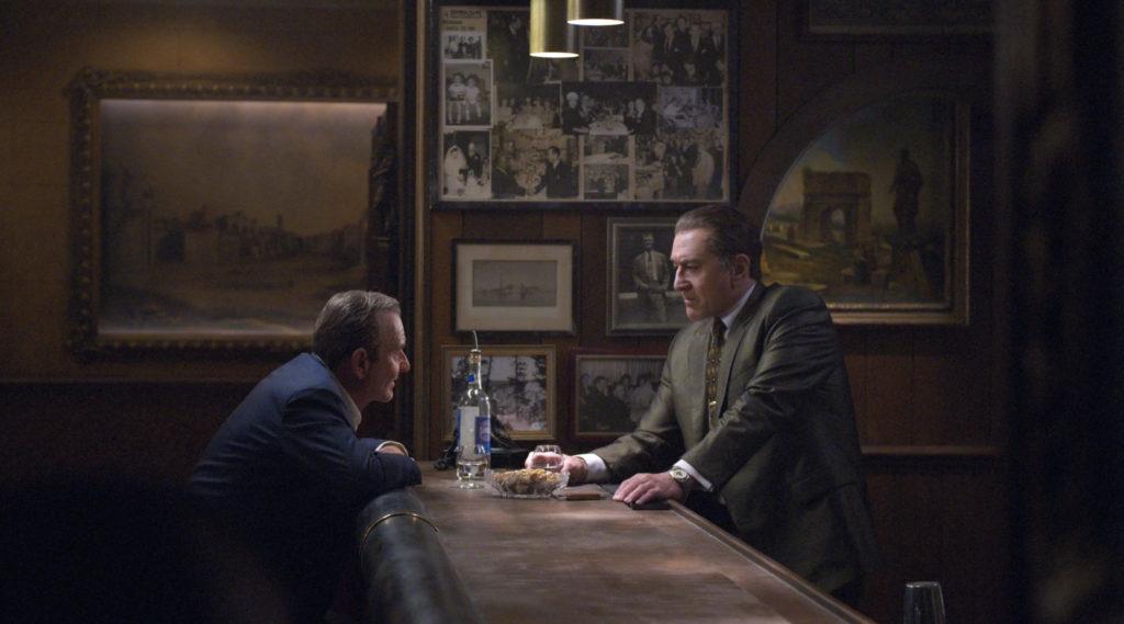 Joe Pesci and Robert De Niro in a scene from The Irishman