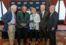 Tom Tropp, Albert S. Dandridge, III, Karen Model, Joe Zuritsky and Marcel Groen