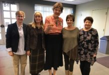 Randi Freeman, Marlene Markowitz, Linda Kenyon, Susan Price and Sheryl Beegal