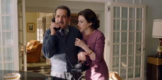 Tony Shalhoub plays Abe Weissman and Marin Hinkle portrays his wife, Rose