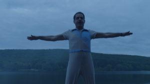 Tony Shalhoub's one-piece romper in season 2