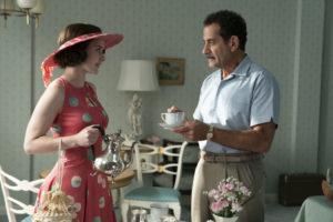 Tony Shalhoub with Rachel Brosnahan