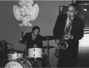A 16-year-old Bruce Klauber playing with Charlie Ventura