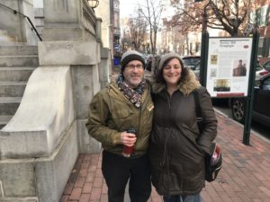 Jerry Silverman and Sonya Aronowitz