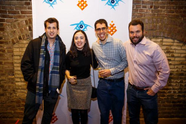 Michael Schreibstein, Allison Feld, Kenny Ginsburg and Josh Rosen