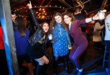 Latke Vodka attendees on the dance floor