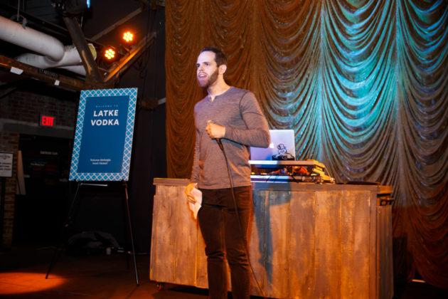 Eli Klein on stage