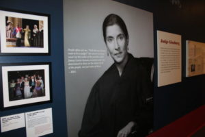The RBG exhibit at National Museum of American Jewish History