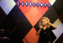 Sheba Mason doing stand-up in New York City