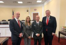 Benjamin Anthony, Rozita Pnini, Brig. Gen. Amir Ebstein and U.S. Rep. Mark Meadows
